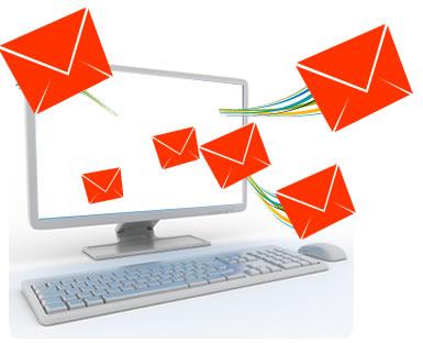 Mercadeo por correo electrónico.